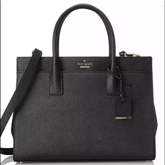 Kate spade Cameron medium satchel black